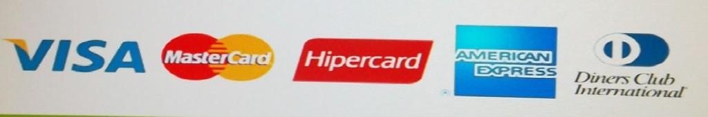 Bandeiras de cartões de credito